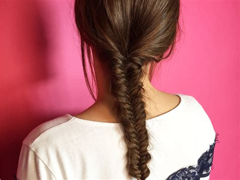does plaiting the hair make it grow long how to do a fishtail plait