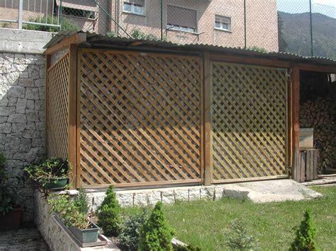 frangivista giardino frangivista in legno pi legno condino
