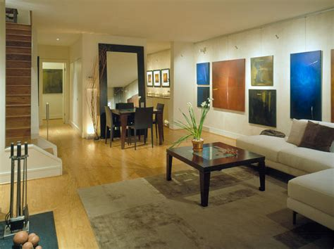 modern mirrors for living room open living room with colorful wall art hgtv