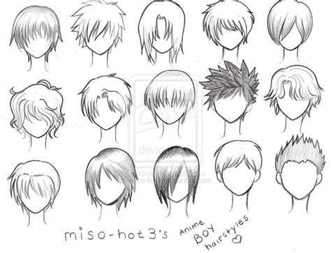 Anime Hairstyles For Guys | 25 best ideas about anime boy hairstyles on pinterest