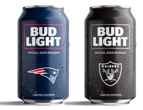 vikings bud light can bud light unveils nfl can designs