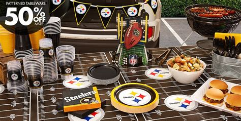 City Football Decorations by Nfl Pittsburgh Steelers Supplies City