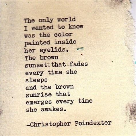 Christopher Poindexter quotes   christopher poindexter