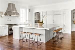 oversized kitchen island beautiful kitchen features an oversized island topped with