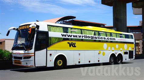 Vrl Sleeper vrl vijayanand travels volvo b9r multi axle sleeper