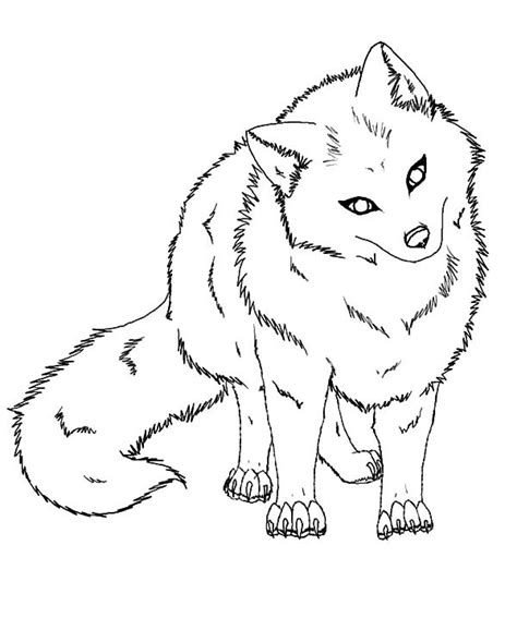 coloring page fox head big eyed penguin coloring pages