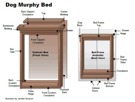 murphy bed cabinet diy how to make a dog murphy bed for home or rv