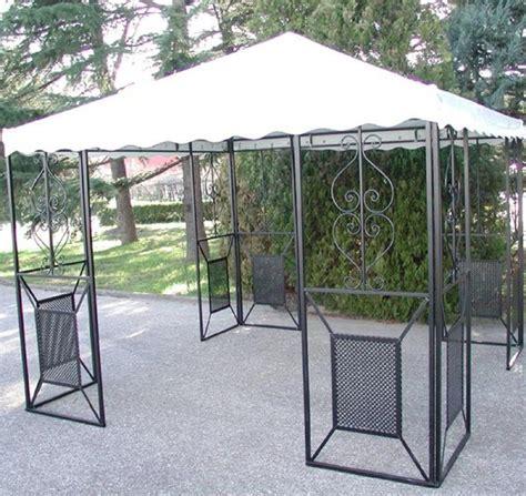 gazebo in ferro 3x3 gazebo in ferro battuto friendly mt 3x3 arredo giardino