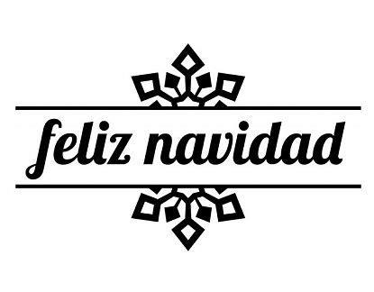 feliz navidad imagenes blanco y negro vinilos decorativos especiales para navidad quot feliz navidad