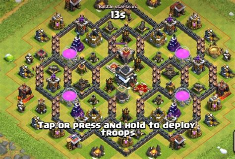 th9 layout strategy 10 best th9 farming base and war base layouts 2017