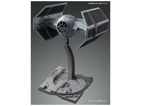 Promo Original Bandai Model Kit Starwars Tie Advance X1 wars tie advanced x1 1 72 model kit