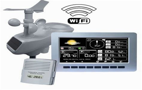 professional wireless weather station w pc link wh2081 ebay
