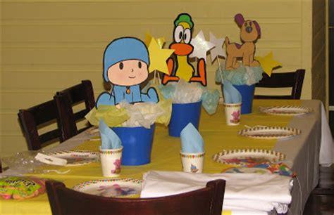 ideas para decorar salon de cumpleaños decoraci 243 n de fiestas infantiles de pocoyo