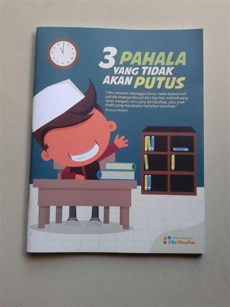 design cover buku islami buku tulis islami cover 3 pahala yang tidak akan putus