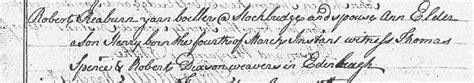 Edinburgh Birth Records Sir Henry Raeburn 1756 1823 National Records Of Scotland