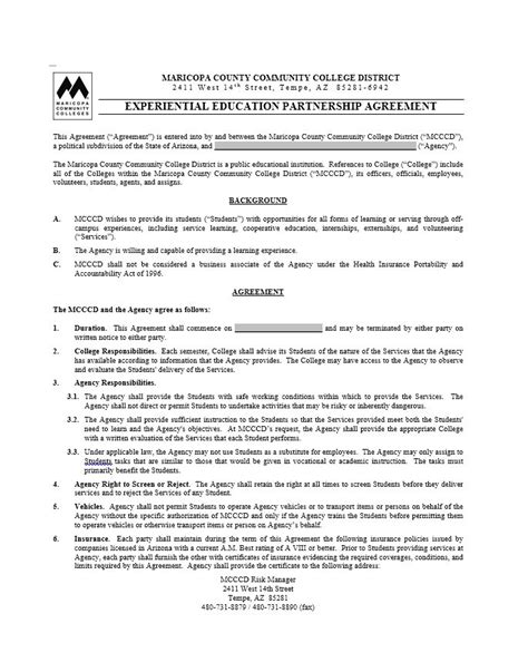 free partnership contract template 40 free partnership agreement templates business