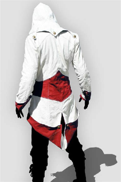 Hoodie Assassins Creed 3 assassin s creed 3 connor kenway jacket hoodie costume version assassin s creed