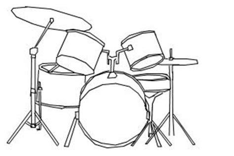 Simple Drum Drawing