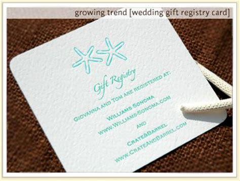 registry information on wedding invitations images of bridal registry should gift information b and wedding invitation wording no registry