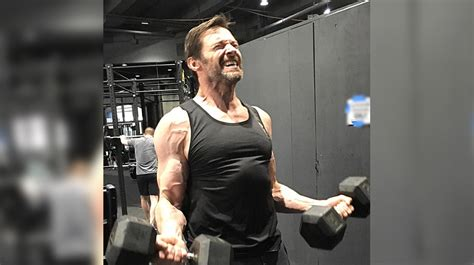hugh jackman s wolverine 3 training looks intense