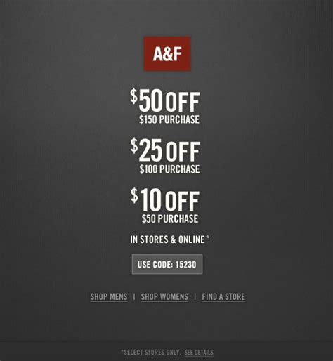Abercrombie Coupons Printable