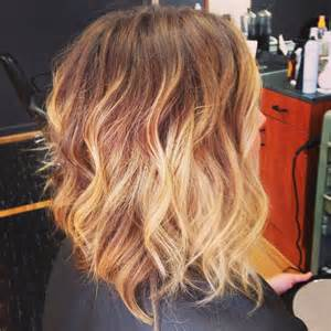 sholder length ombre hair shoulder length ombre rad hair colour pinterest