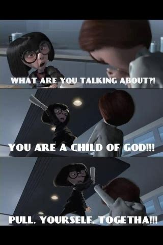 Edna Meme - edna mode crossover with reality quot what are you talking