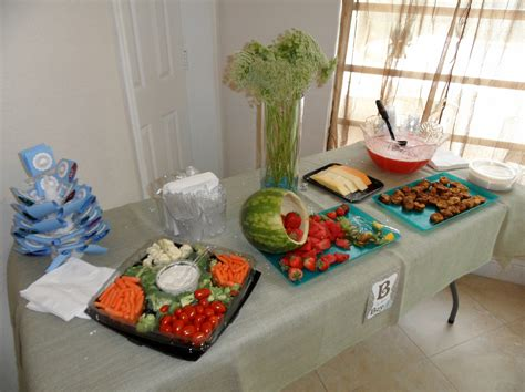 Horderves For A Baby Shower by S Baby Shower Vegetarian Appetizer Ideas