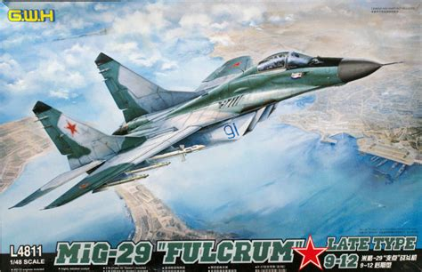 148 Mig 29 913 Fulcrum C great wall hobbies 4811 1 48 mig 29 9 12 fulcrum a late kit look