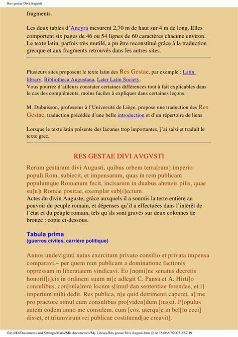 res gestae divi augusti translation 8915613 res gestae divi augusti