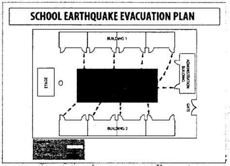 earthquake evacuation school fire drill map www pixshark com images