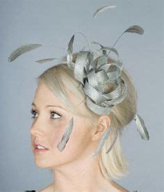 Wedding Hair Accessories Cheshire by White Fascinator Mesh Couture Hat