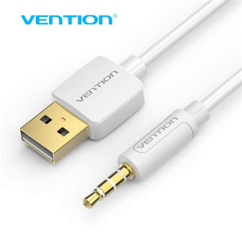 Sale Bca 1m Vention Kabel Aux Audio 3 X Rca To aliexpress buy vention usb aux cable 0 25m 0 5m 1m usb to 3 5mm charger data cable