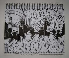 imgs  graffiti wildstyle alphabet sketches black