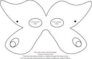 Butterfly Mask Template by The Butterfly Mask