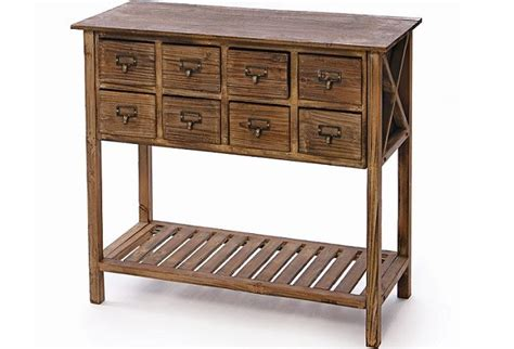 apothecary desk for sale apothecary console eight drawers wood base rack