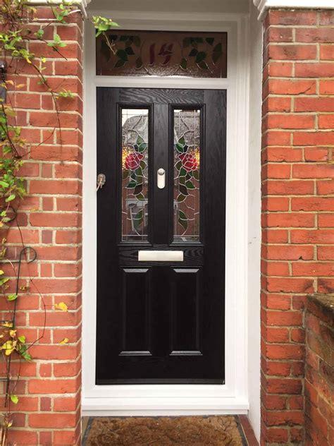 Black Composite Front Door Composite Front Doors In Southton Front Doors Fitted