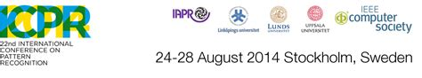 call for papers pattern recognition 187 society of data icpr 2014