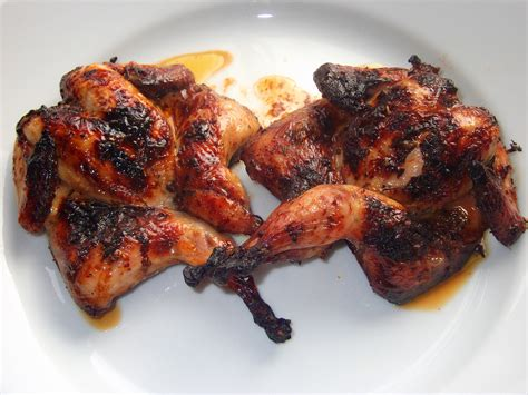 grilled quail   The Skint Foodie