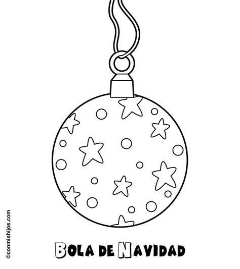 dibujos de navidad para colorear los niños imprimir dibujos para colorear de bolas de navidad por