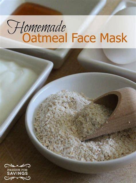 diy oatmeal mask oatmeal mask