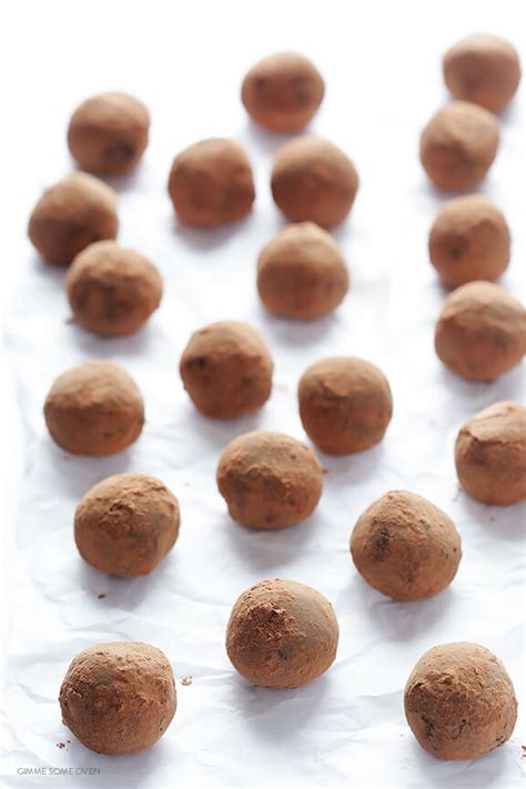 6 Ingredients And Directions Of Chocolate Truffles Receipt by 5 Ingredient Whiskey Chocolate Truffles Gimme Some Oven