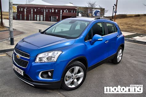 chevrolet trax  reviewmotoring middle east car