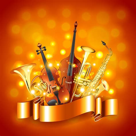 imagenes hd instrumentos musicales musical instruments vector background stock vector