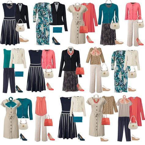 Spring Seasonal Colors Uk 2014 Capsules | spring exle capsule wardrobe outfits professional