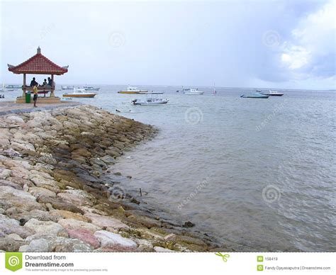 sanur beach royalty  stock images image
