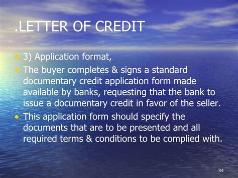 Cibc Letter Of Credit Application Format For Letter Of Credit Application And Amendment Forms Cibc Students