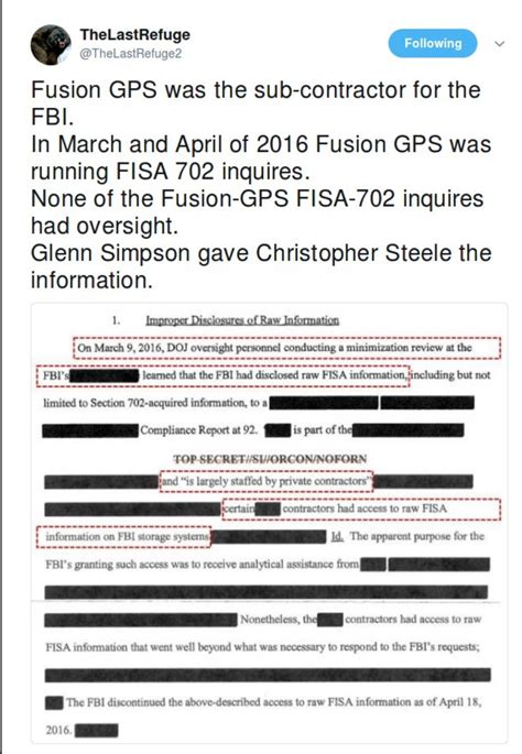 section 702 of fisa breaking fusiongps was a subcontractor for the fbi ran