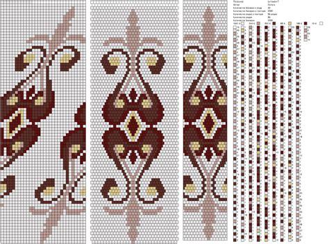 Perlenweben Vorlagen Muster 1 peyote muster h 228 kelketten