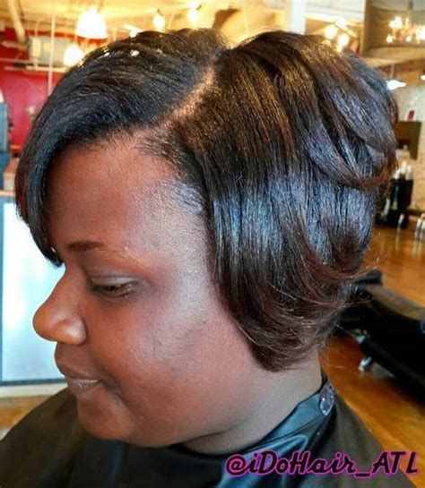 short sew in bob style for black women sew hot 30 gorgeous sew in hairstyles